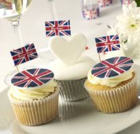 Celebrate Britain Cupcake Sticks (20)